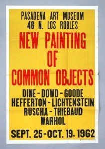 New Paintings of Common Objects